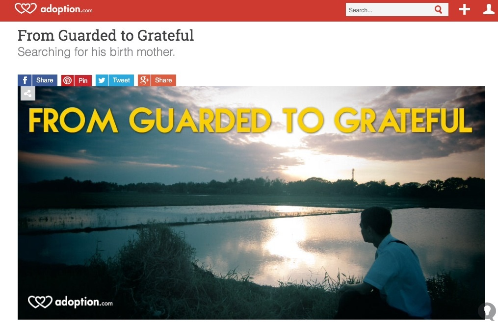 FROM GUARDED TO GRATEFUL